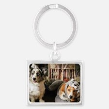 It's That Time of Year Landscape Keychain