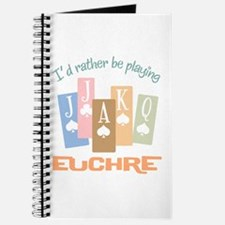 Retro Rather Play Euchre Journal