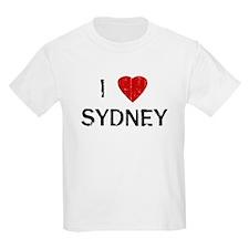 I Heart SYDNEY (Vintage) Kids T-Shirt