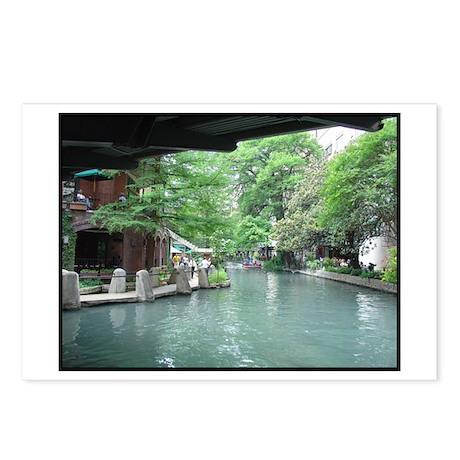 San Antonio Riverwalk Postcards (Package of 8)