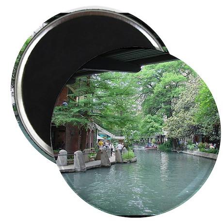 "San Antonio Riverwalk 2.25"" Magnet (10 pack)"