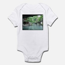 San Antonio Riverwalk Infant Bodysuit