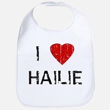 I Heart HAILIE (Vintage) Bib