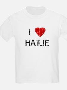 I Heart HAILIE (Vintage) Kids T-Shirt