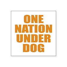Under Dog Sticker