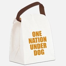 Under Dog Canvas Lunch Bag