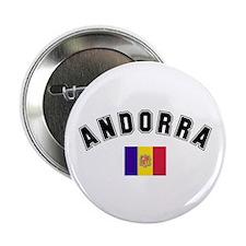 "Andorra Flag 2.25"" Button (10 pack)"