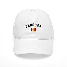 Andorra Flag Baseball Cap