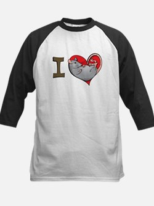 I heart rats (grey) Tee
