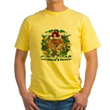 MerryChristmas Pomeranian T-Shirt