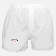 Croatia Flag Boxer Shorts