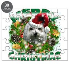 MerryChristmas Maltese Puzzle