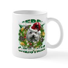 MerryChristmas Maltese Mugs