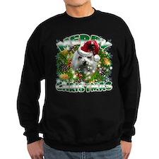 MerryChristmas Maltese Sweatshirt
