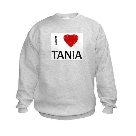 I Heart TANIA (Vintage) Kids Sweatshirt