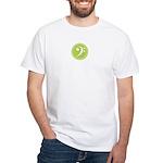 Base Clef Green White T-Shirt