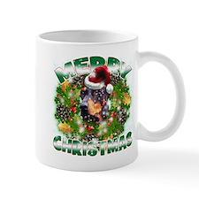 MerryChristmas Doberman Mugs