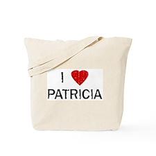 I Heart PATRICIA (Vintage) Tote Bag