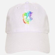 Rainbow Unicorn Baseball Baseball Cap