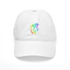 Rainbow Unicorn Baseball Cap