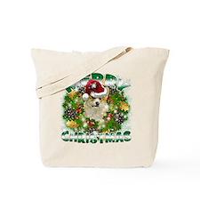 MerryChristmas Corgi Tote Bag