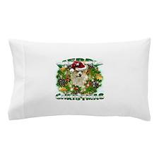 MerryChristmas Corgi Pillow Case