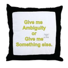 The Mr. V 184 Shop Throw Pillow