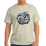 Dizzy Flower Ash Grey T-Shirt