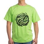 Dizzy Flower Green T-Shirt