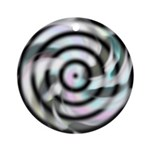 Dizzy Flower Ornament (Round)