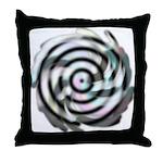 Dizzy Flower Throw Pillow