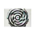Dizzy Flower Rectangle Magnet (100 pack)
