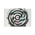 Dizzy Flower Rectangle Magnet (10 pack)