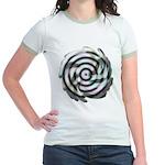 Dizzy Flower Jr. Ringer T-Shirt