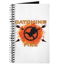 Catching Fire Blazing Journal