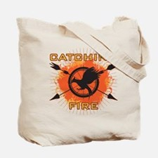 Catching Fire Blazing Tote Bag