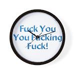 Fuck You Wall Clock