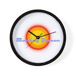 Morning Person Wall Clock