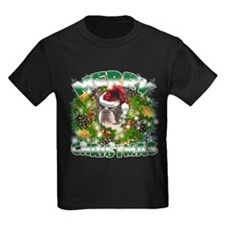 MerryChristmas Boston Terrier T-Shirt