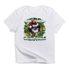 MerryChristmas Black Pekingnese Infant T-Shirt