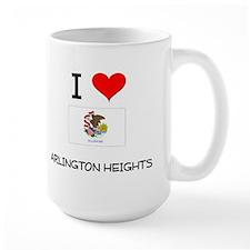 I Love ARLINGTON HEIGHTS Illinois Mugs