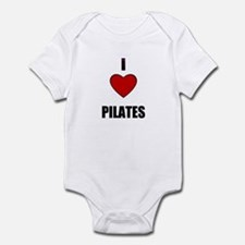 I LOVE PILATES Infant Bodysuit