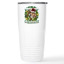 MerryChristmas Beagle Travel Mug