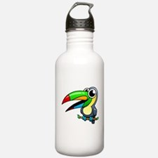 Cartoon Toucan Water Bottle