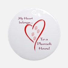 Pharaoh Heart Belongs Ornament (Round)