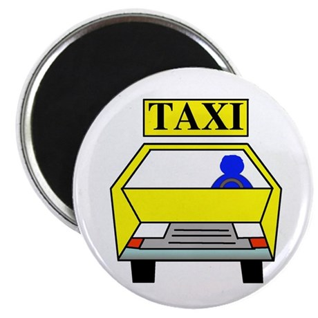 "Taxi Logo 2.25"" Magnet (10 pack)"
