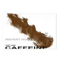 Caffeine Postcards (Package of 8)