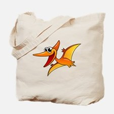 Cartoon Pterodactyl Tote Bag