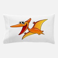 Cartoon Pterodactyl Pillow Case