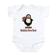 Penguin Buffalo New York Infant Bodysuit